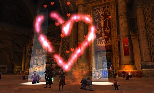 World of Warcraft Love is in the Air
