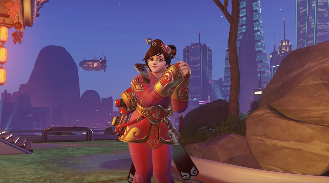 Overwatch Skin Accidentally Makes Mei Thinner