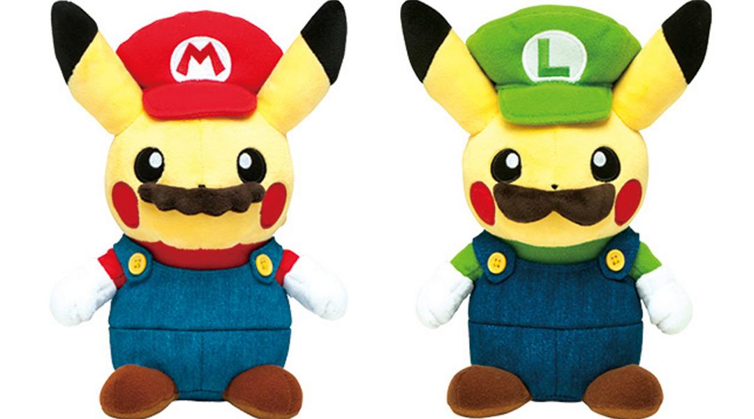 Nintendo of Japan Announces 'Mario Pikachu' Merchandise Line