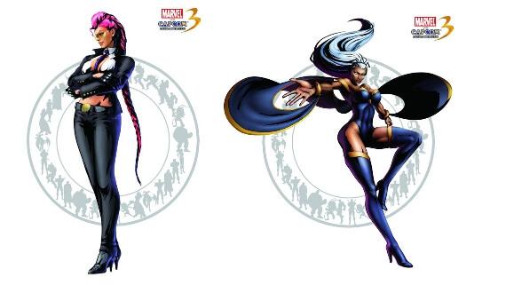 Marvel vs. Capcom 3 - C. Viper and Storm Roster Reveal