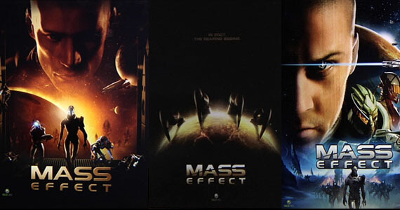 Alternate Covers For Mass Effect 'mass Effect' Alternate Cover