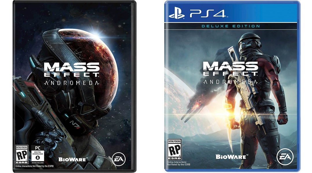 Mass Effect: Andromeda Box Art and Deluxe Edition Leak