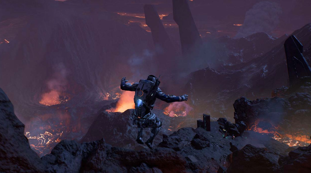 Latest Mass Effect: Andromeda Trailer Shows Off Stunning New Vista