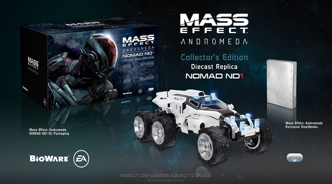 Mass Effect: Andromeda Collector's Editions Include New 'Mako' Vehicle