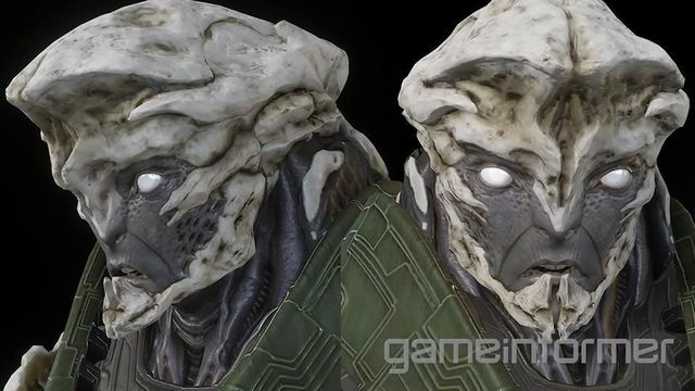 Mass Effect: Andromeda Introduces New Kett Alien Race - Kett face