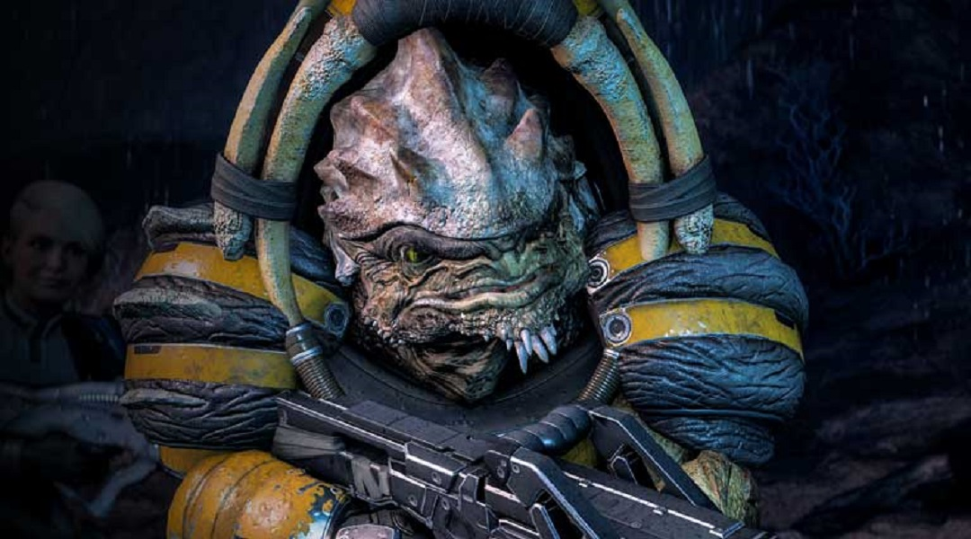 Mass Effect: Andromeda Reveals Krogan Companion