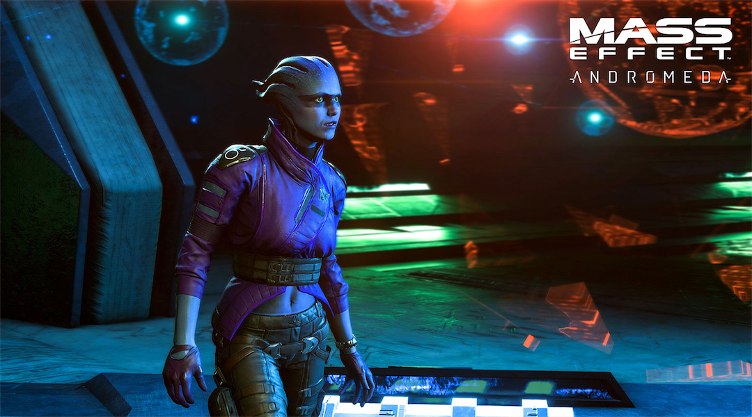 ME: Andromeda Loyalty Mission Footage with Peebee