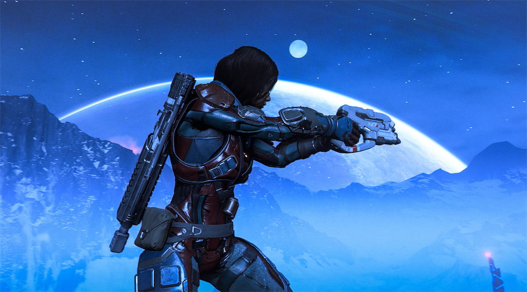 Mass Effect: Andromeda Releases Weapons Training Trailer