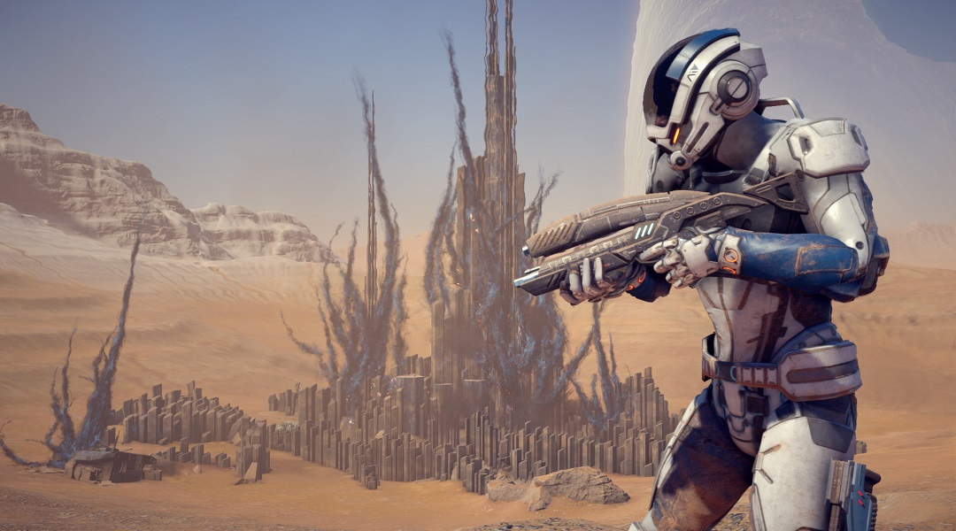 Mass Effect: Andromeda Video Reveals Weapons & Skills