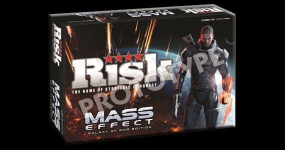 BioWare Producing 'Mass Effect' Risk Board Game