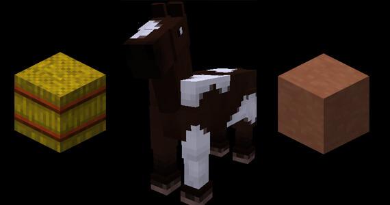 'Minecraft' Snapshot Update Brings Horses & Hardened Clay