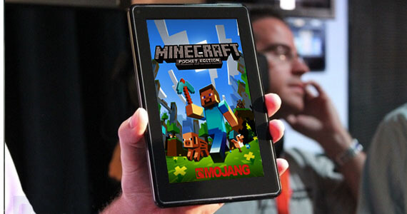 'Minecraft' Now on Kindle Fire