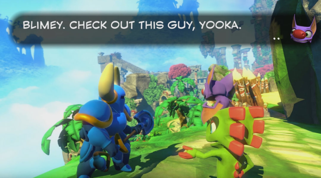 New Yooka-Laylee Trailer Features Shovel Knight