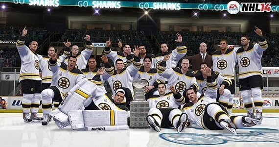 NHL 14 Stanley Cup Playoffs Simulation Predicts Boston Bruins Stanley Cup Win