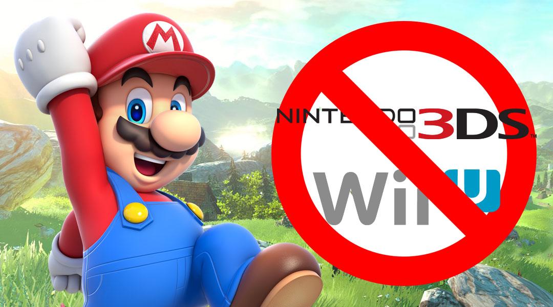 Nintendo Switch Won't Play Wii U Discs, 3DS Cartridges