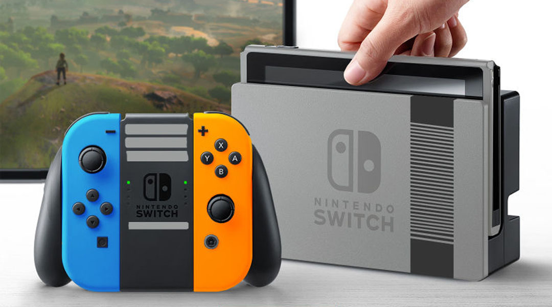 Nintendo Switch Looks Incredible in Different Colors