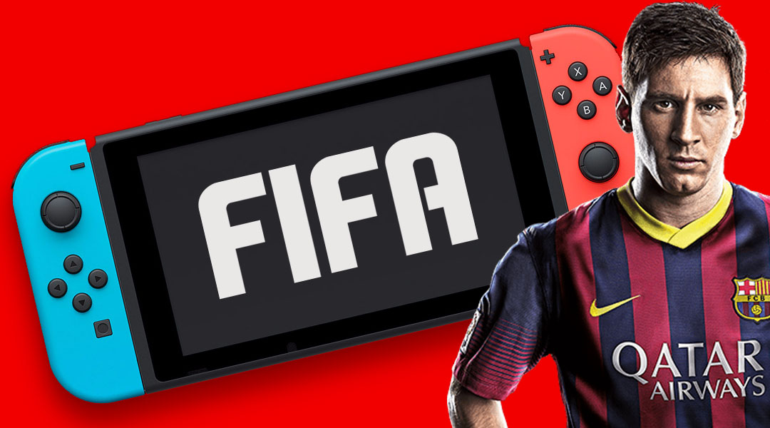 Here's the First Glimpse of FIFA Running on Nintendo Switch
