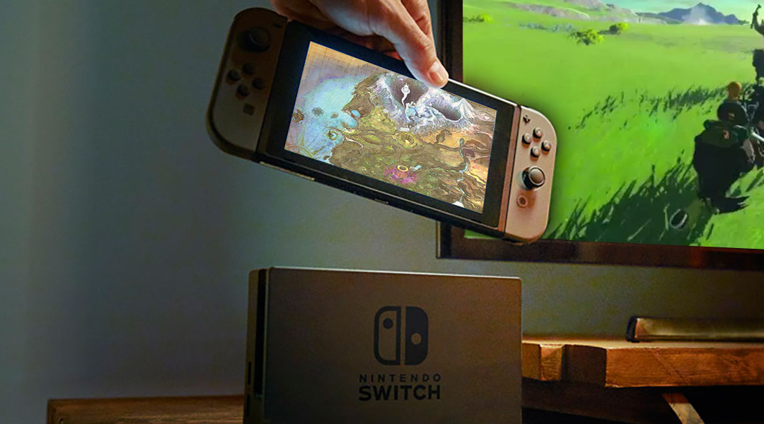 Nintendo Switch is a Single Screen Console