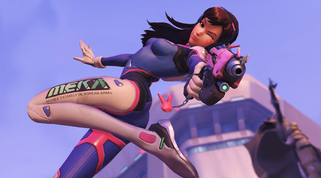 StarCraft 2: Overwatch's D.Va Joins Game as Announcer