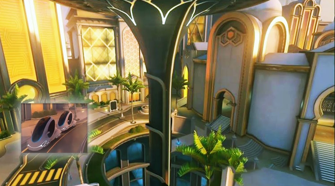 Overwatch Oasis Map Adds Deadly Cars