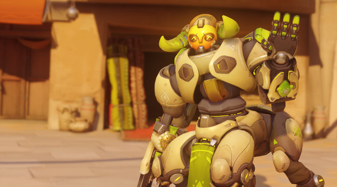 Overwatch's new hero Orisa: All her skins, emotes and unlocks