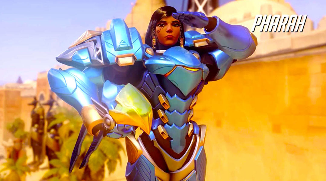 Overwatch PTR Change Enables Pharah To Fly Forever
