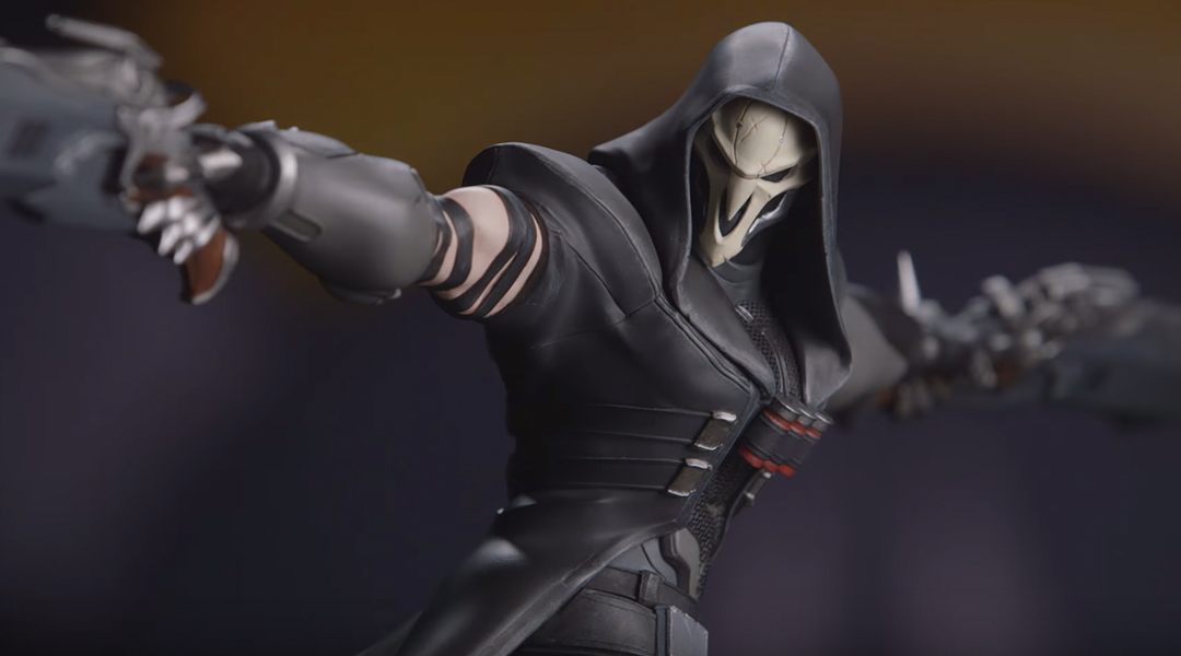 Blizzard Unveils Overwatch Reaper Collectible Statue