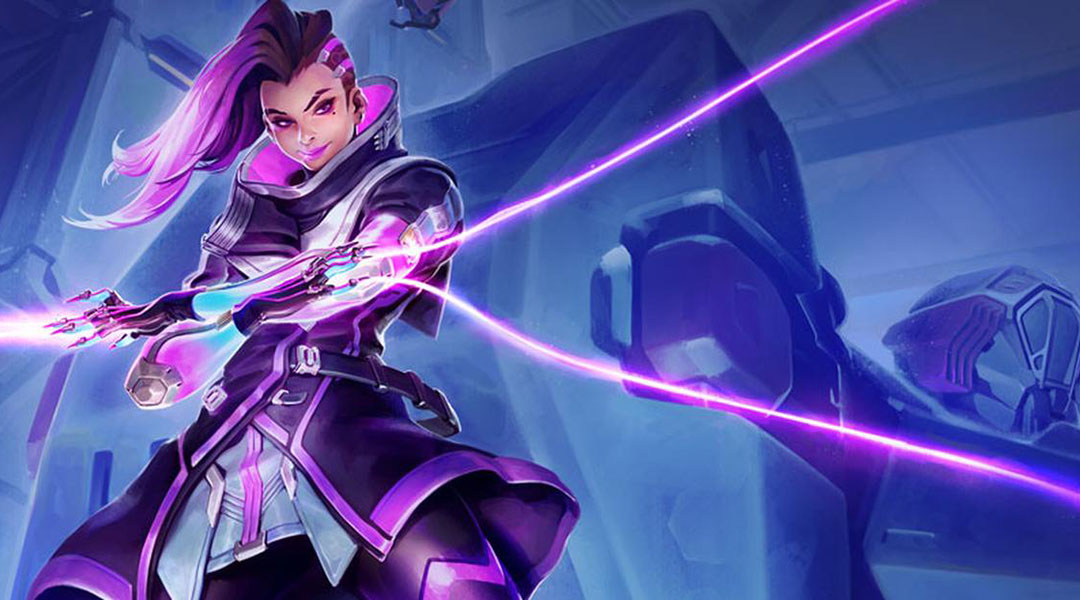 Official Overwatch Sombra Artwork Leaks