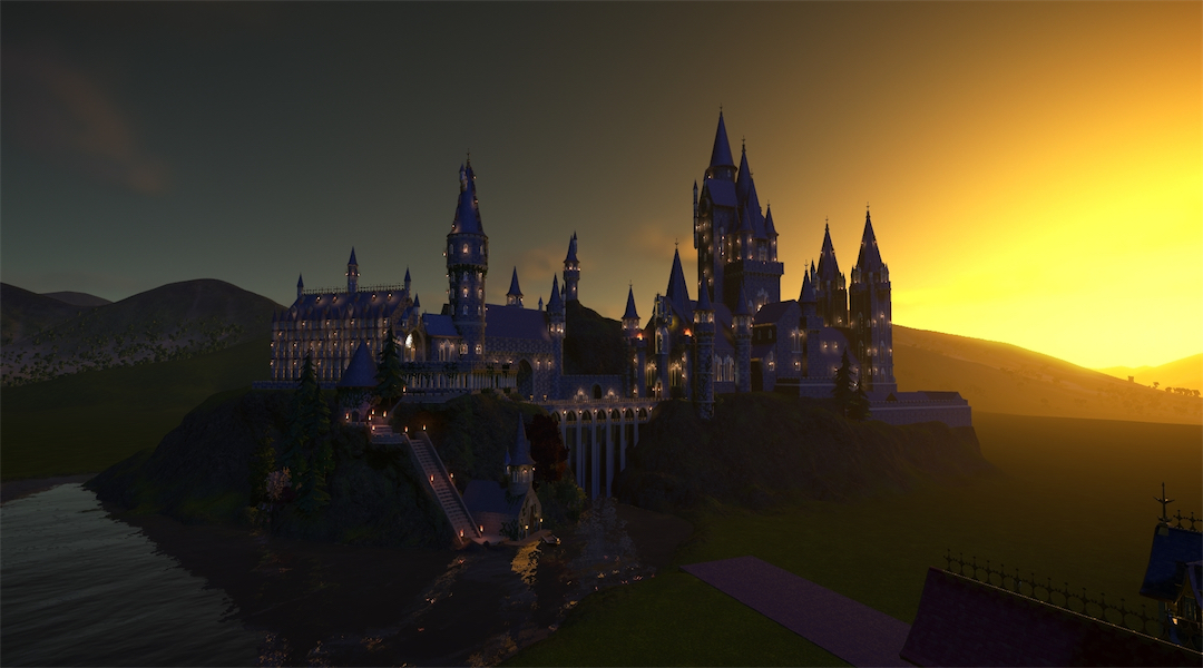 Planet Coaster Player Recreates Hogwarts From Harry Potter