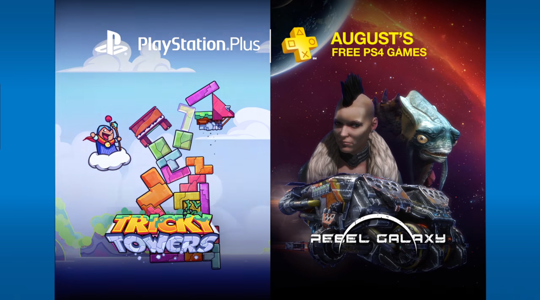 Sony's Free PlayStation Plus Games for August 2016