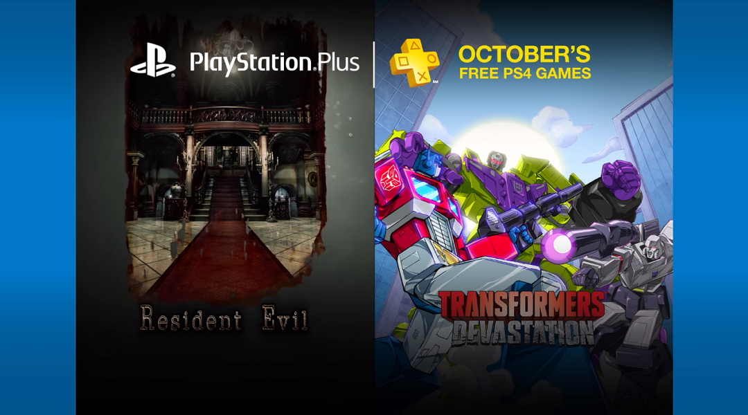 Free PlayStation Plus Games for October 2016
