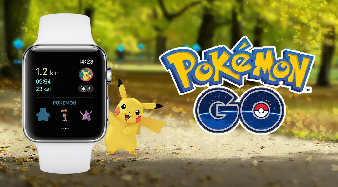 Pokemon GO Releases Apple Watch App
