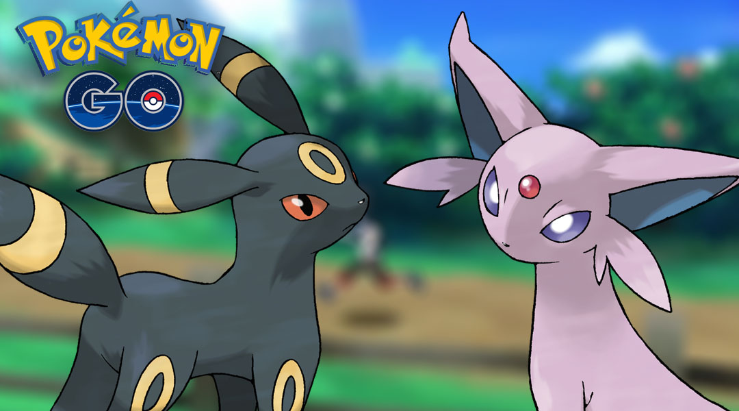 Pokemon GO Guide: Make Eevee Evolve to Umbreon & Espeon