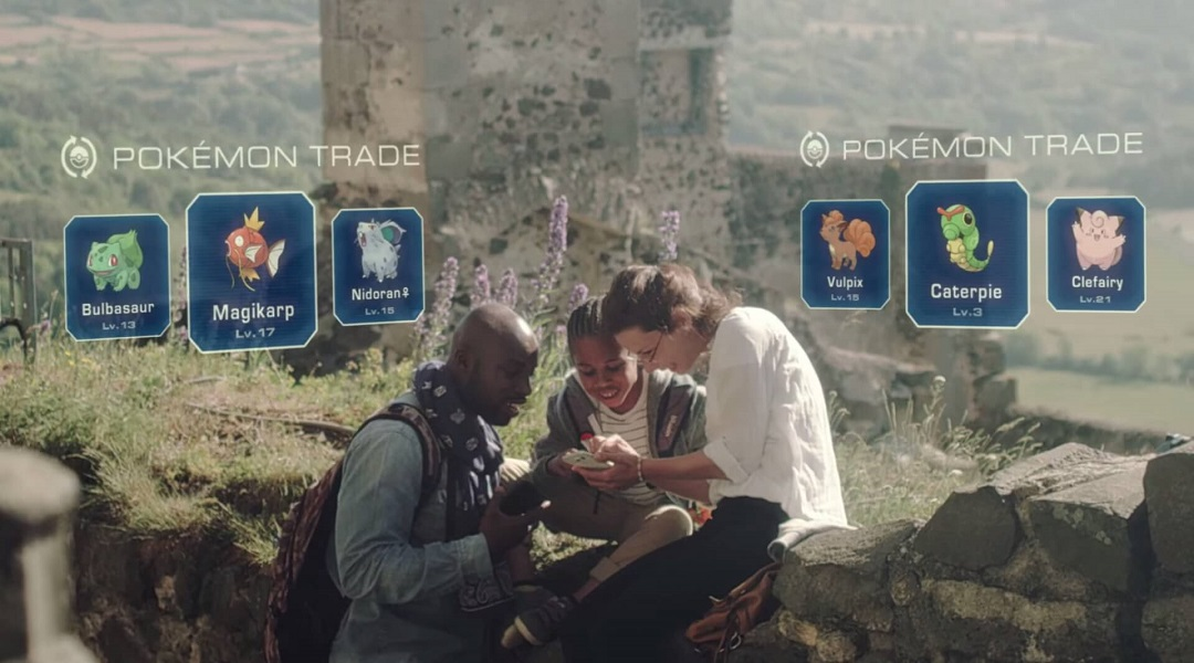 Pokemon GO Trading Code Removed from Game