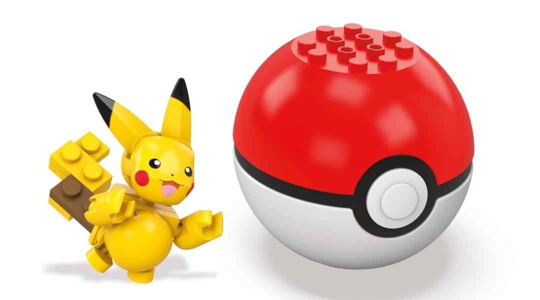 New Pokemon Mega Bloks Set Adds Pikachu, Charizard
