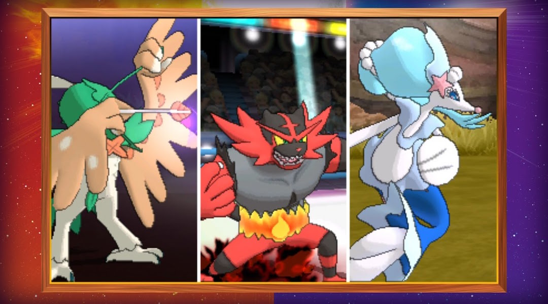 Pokemon Sun and Moon Trailer Reveals Final Starter Evolutions and More