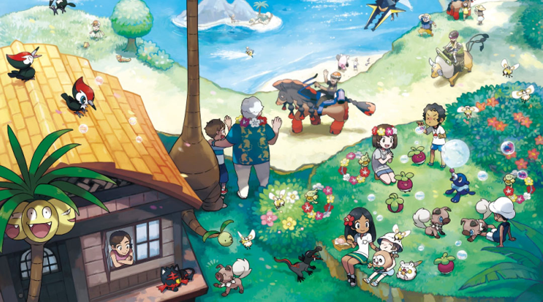 Nintendo Banning Pirated Copies of Pokemon Sun and Moon