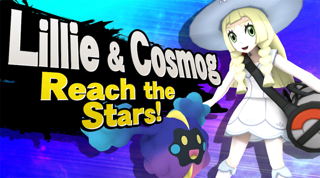 Pokemon Sun and Moon Characters Modded into Super Smash Bros.