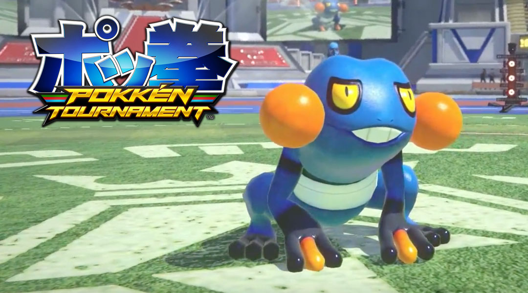 Pokken Tournament: Croagunk Joins The Roster