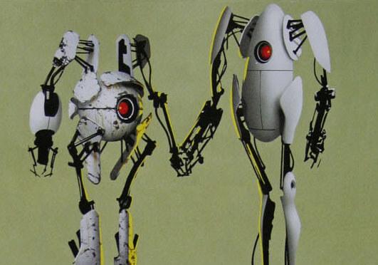 OMG YAY! Portal 2! Portal-2-bots