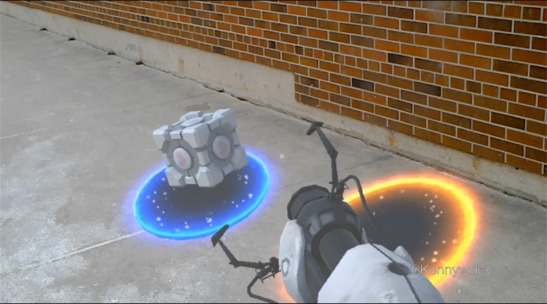 Portal for the HoloLens Is Insane