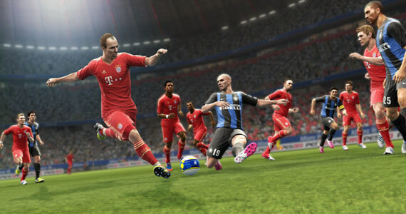 Pro Evolution Soccer 2013 Gameplay