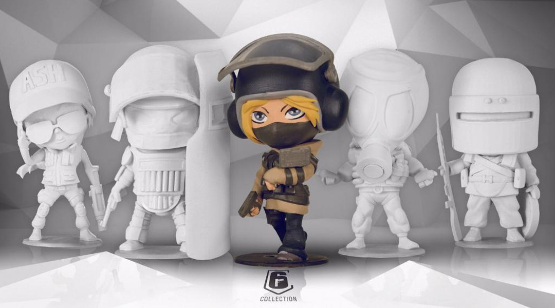 Ubisoft Polls Fans About Rainbow Six Siege Figurines