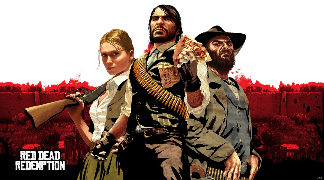 red-dead-redemption characters pose