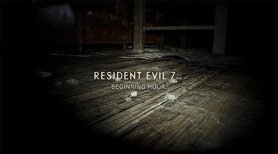 Resident Evil 7 Demo No Longer Requires PS Plus Subscription