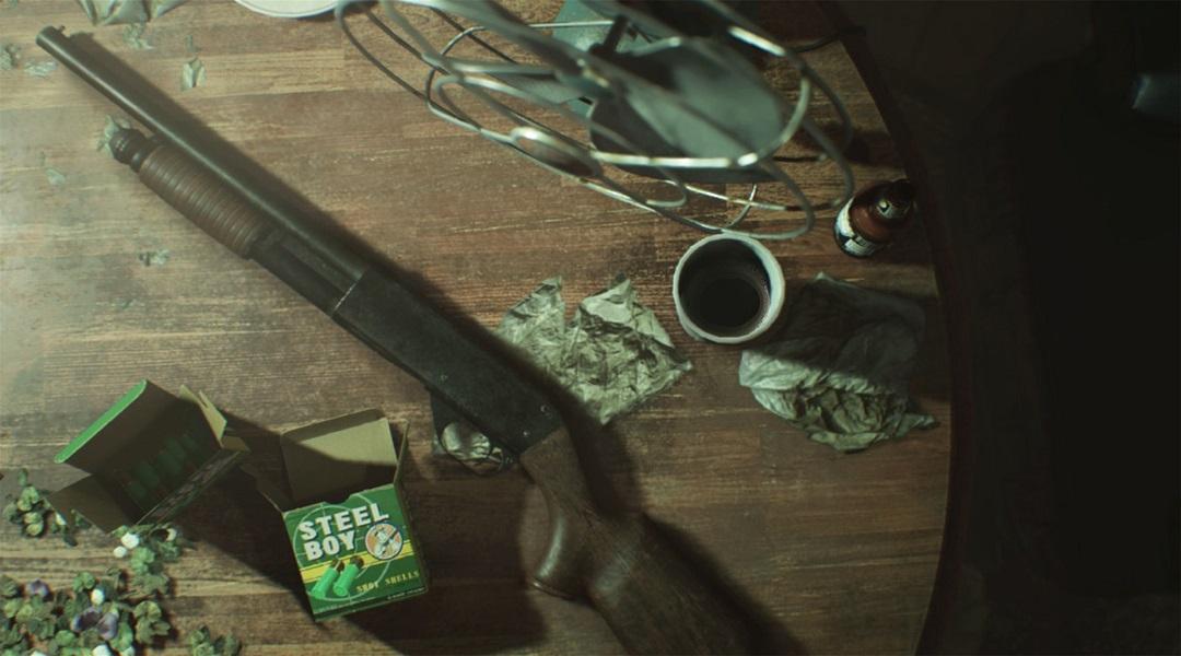 Resident Evil 7 Trailer Reveals Shotgun and Item Box