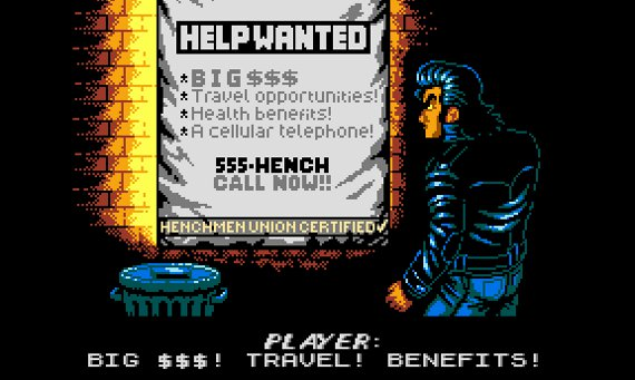 Retro City Rampage - Help Wanted, Big $$$