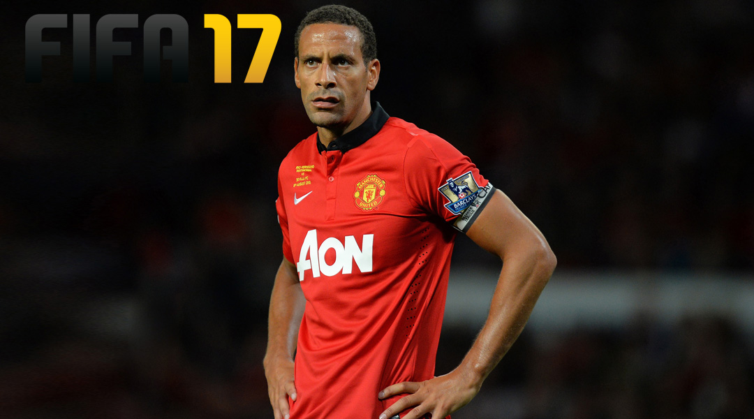 Rio Ferdinand Is Not Happy About His FIFA 17 Stats