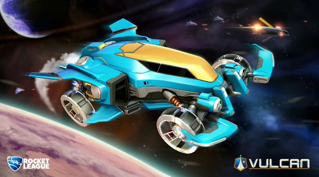 Rocket League Goes to Space With New Arena, Car, & More