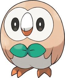 Pokemon Sun and Moon: All the New Pokemon - Rowlet